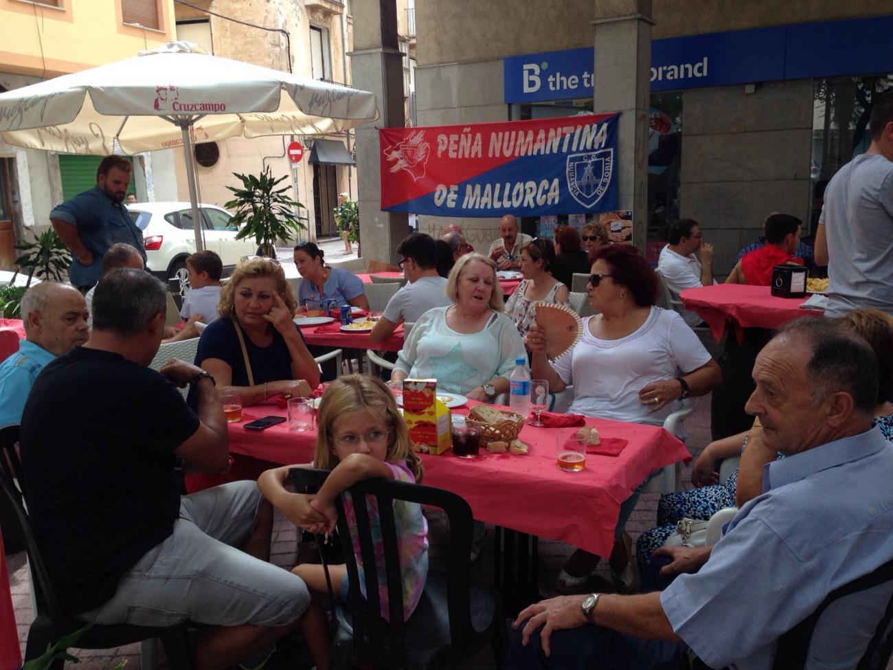 El Torrezno de Soria llega a Mallorca de la mano de la Peña Numantina