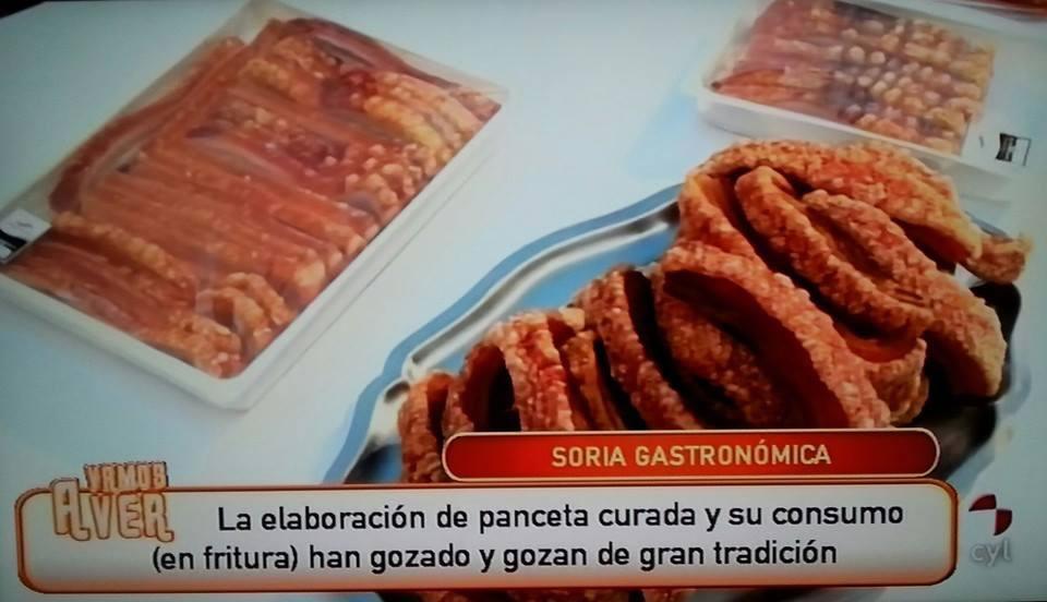 """El Torrezno de Soria participa en una tertulia gastronómica del programa """"Vamos a ver"""" de CYLTV"""
