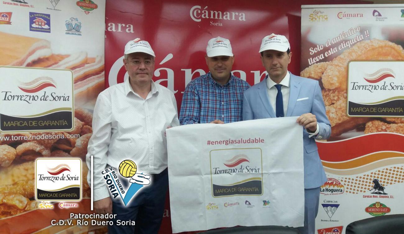 Torrezno de Soria se convierte en patrocinador del C.D.V. Río Duero Soria de la Superliga Masculina