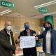 El delantal solidario recauda los primeros 360 € por las ventas realizadas en 2020