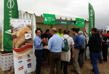 ASAJA Soria reparte más de 3.000 Torreznos de Soria en Fendtgüinos 2015
