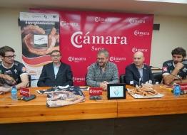 Los líberos del C.D.V. Río Duero Soria volverán a vestir el torrezno en la Superliga Masculina de Voleibol