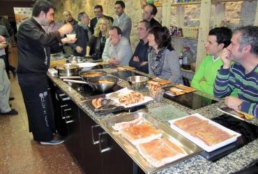 Bilbao acogió una presentación de la M.G. Torrezno de Soria para hosteleros